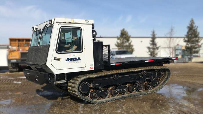 Used crawler carriers